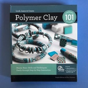 Polymer Clay 101 book - hardcover